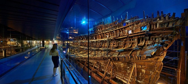 Photo of The Mary Rose.