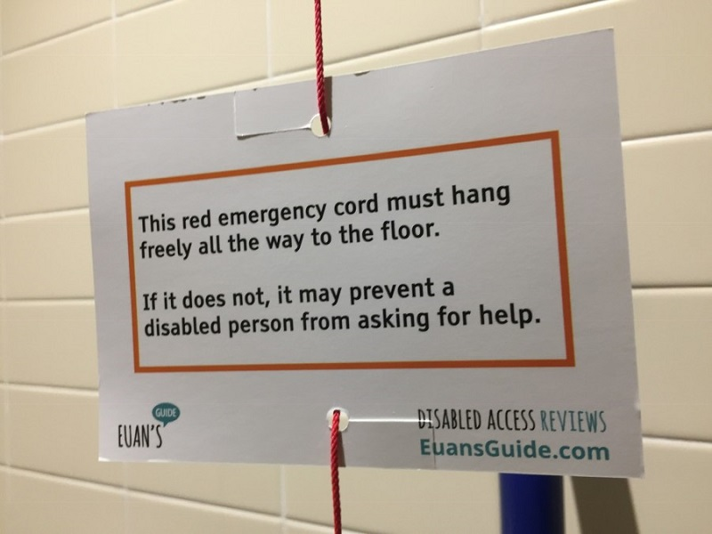 Photo of a Red Cord Card.