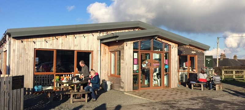 Photo of The Milk Barn.