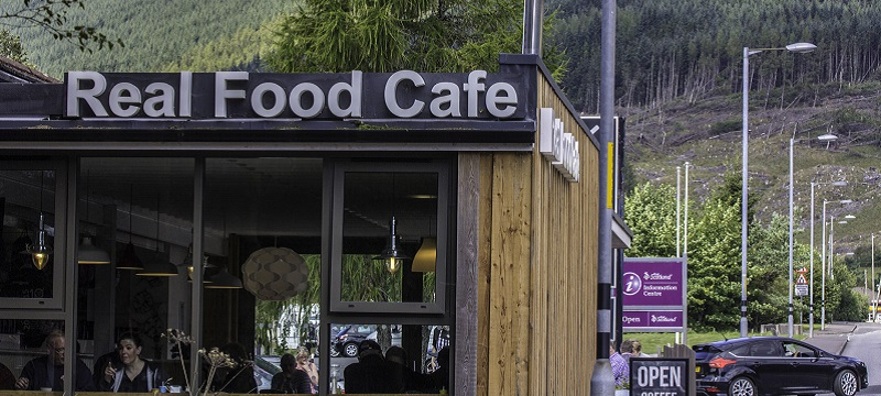 Photo of the Real Food Cafe.