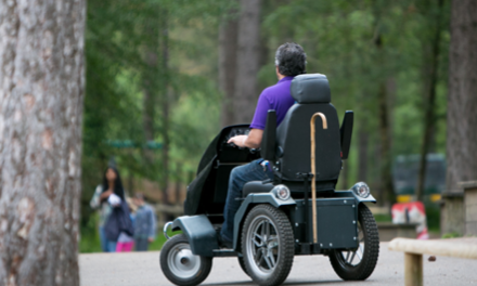 Trekinetic wheelchairs try-out at Moors Valley Country Park
