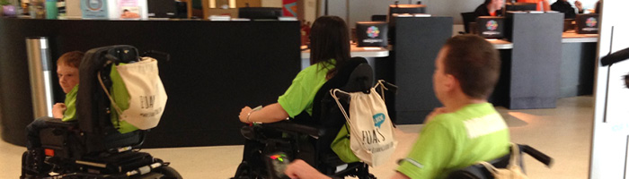 Whizz Kidz at Emirates Arena Glasgow