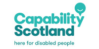 The logo of Capability Scotland