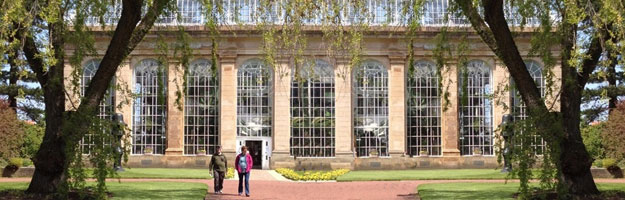 A photo of the Botanics in Edinburgh