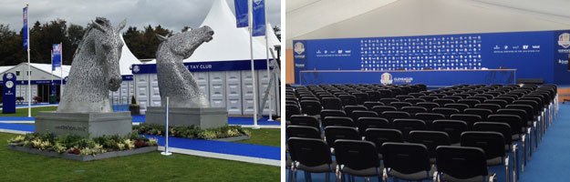 Kelpies and Media Interview Room