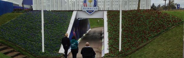 Ryder Cup Player Tunnel