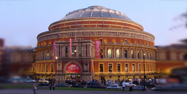 A photo of the Royal Albert Hall