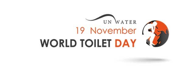 The logo of World Toilet Day.