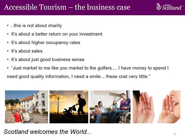 Accessible Tourism Conference article image