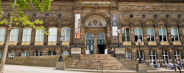 A photo of Leeds City Museum.