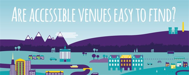 Are accessible venues easy to find.