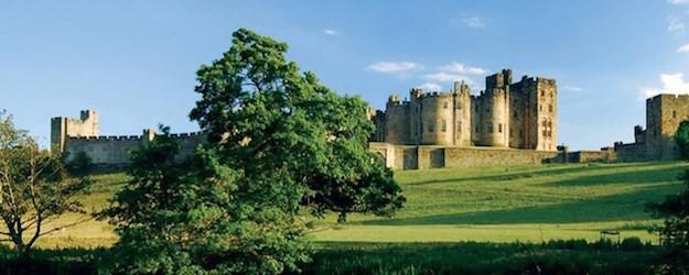Photo of Alnwick Castle.
