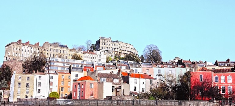 A photo of Bristol's town scape