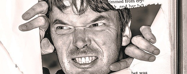 Photo of Ian Rankin.