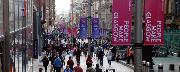Photo of Buchanan Street.