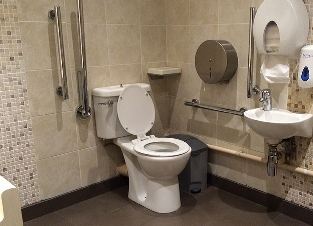 Photo of Tower Bridge accessible toilet.