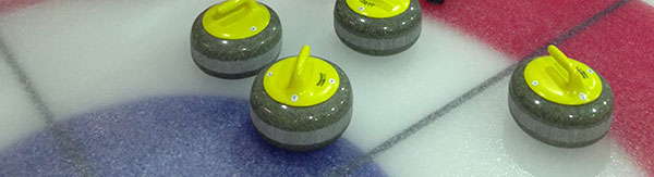 A photo of Curling Stones