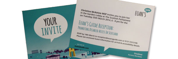 Photo of Euan's Guide Reception Invites