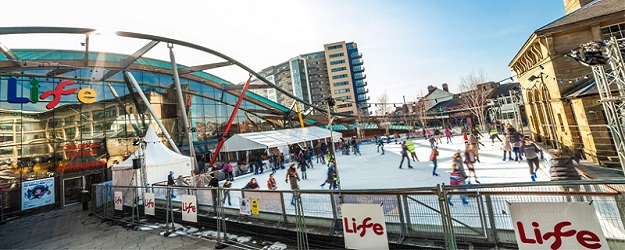 Photo of ice rink at Life.