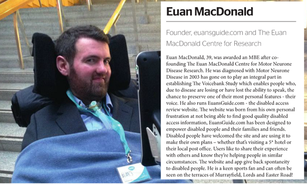 Euan in the Power 100.