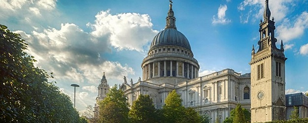 Photo of St. Paul's Cathedral.