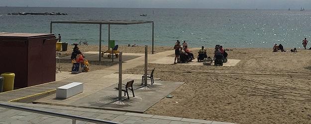 Photo of Barceloneta Beach.