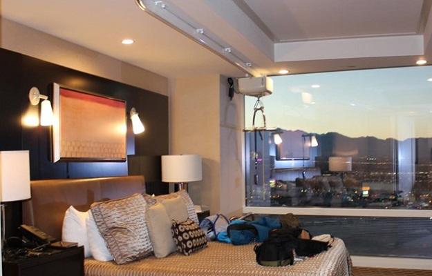 Photo of hotel interior.