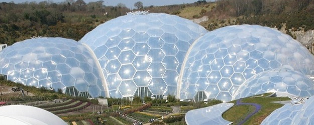 Photo of Eden Project.
