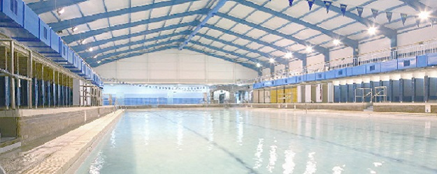 Photo of a swimming pool.