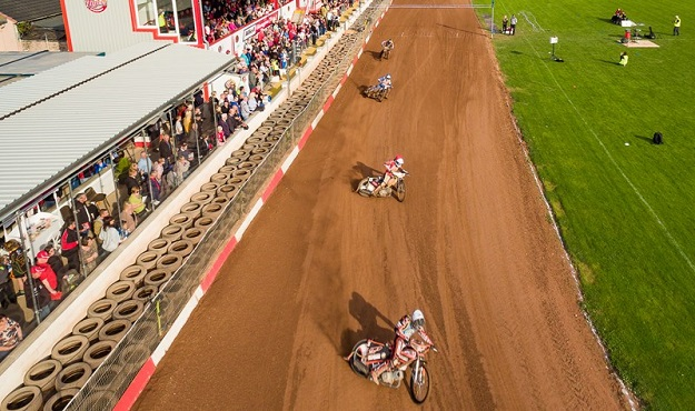 Photo of Glasgow speedway.