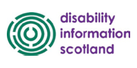 Disability Information Scotland Logo