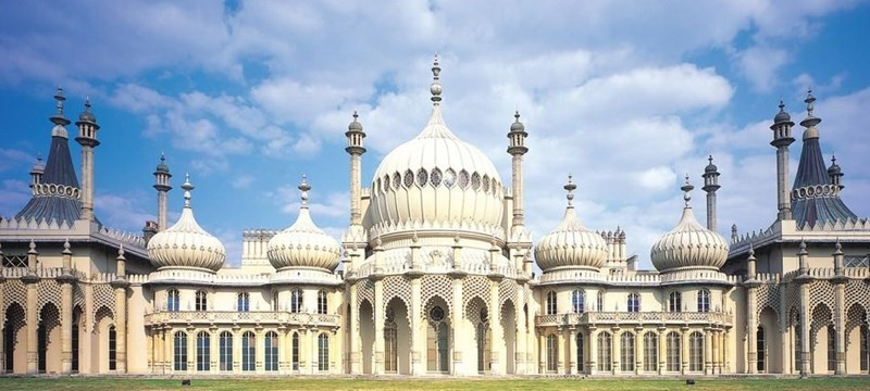 Photo of the Brighton Pavilion.