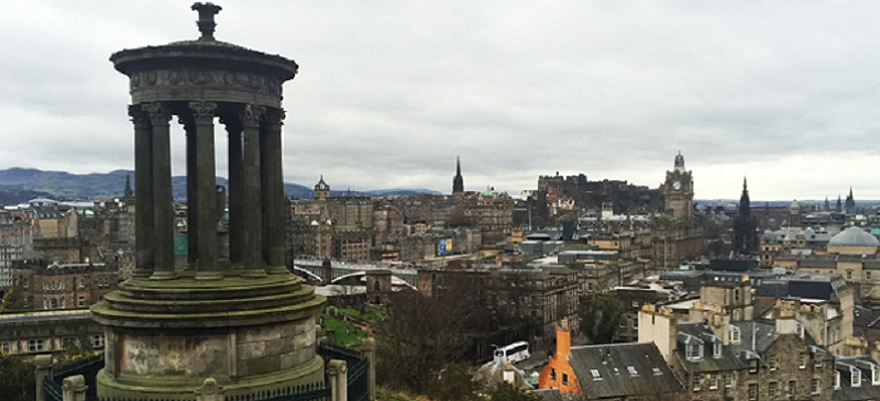 Photo of Edinburgh.