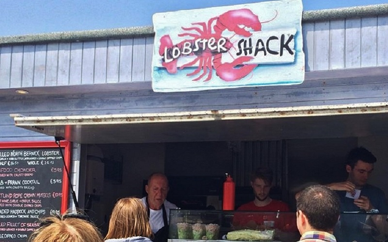 Photo of The Lobster Shack.