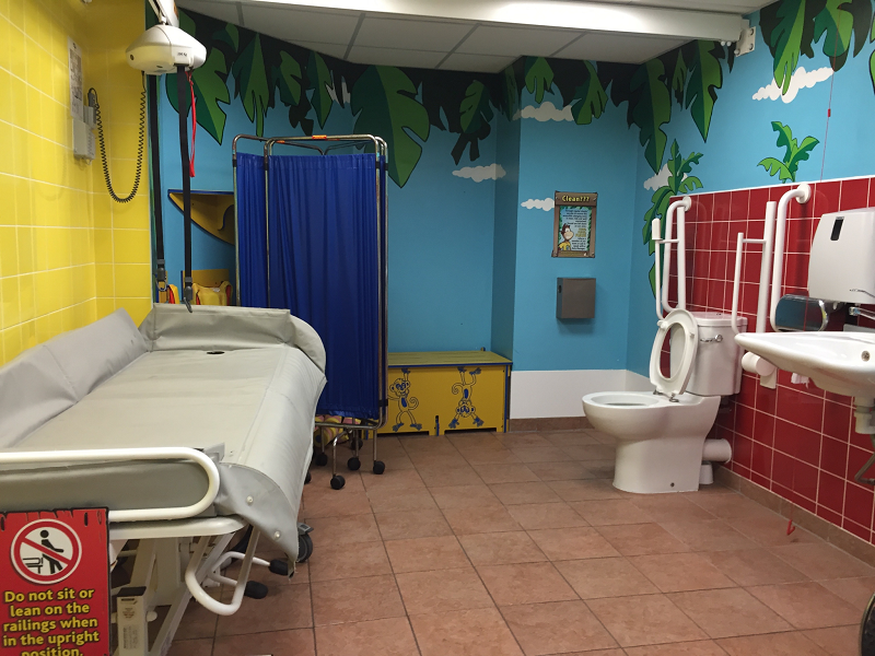 Photo of Sandcastle Water Park toilet.