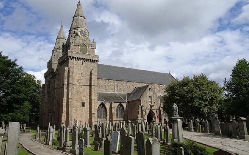 Photo of St Machar's Cathedral.