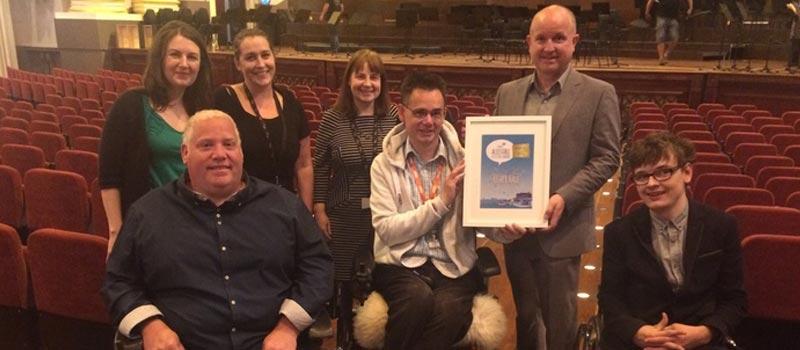 Usher Hall Accessible Edinburgh Festivals Award