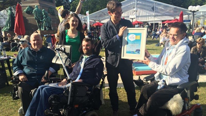Edinburgh International Book Festival - Accessible Edinburgh Festival Award