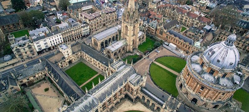 Photo of Oxford University.