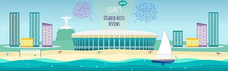 Graphics showing Paralympics Stadium.