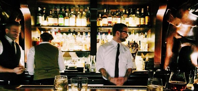 Photo of bartenders.