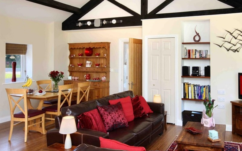 Photo of Kernock Cottages sitting room.
