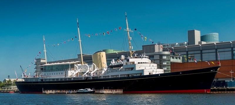 Photo of Royal Yacht Britannia.