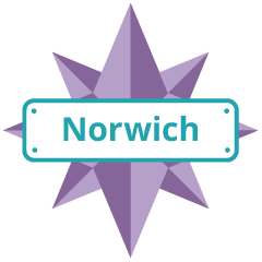 Norwich Explorer Badge