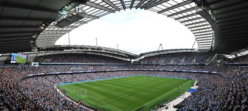 Photo of Etihad Stadium.