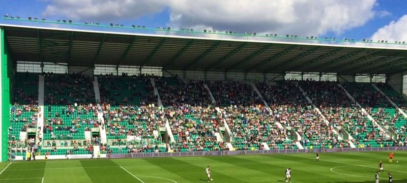 Photo of Easter Road Stadium.