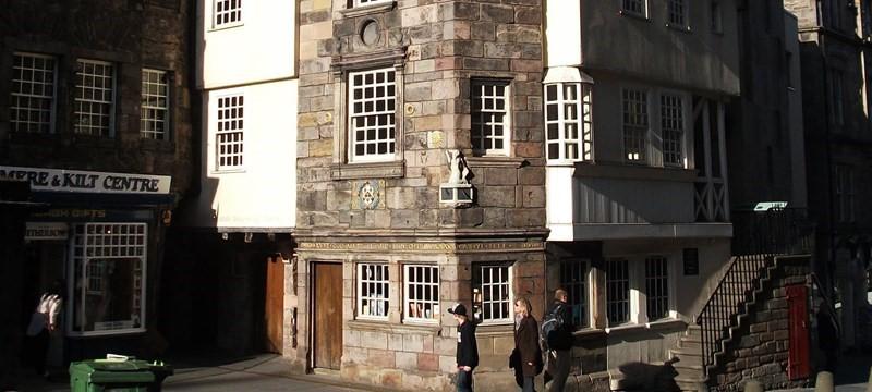 Photo of Scottish storytelling centre.