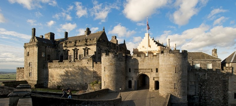 Photo of Stirling Castle.