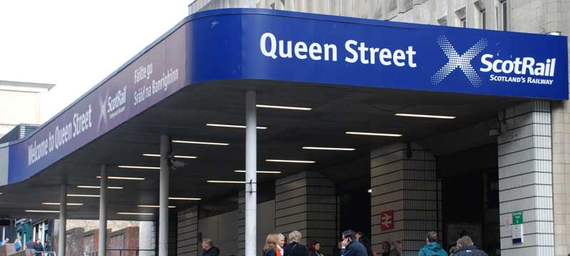 Photo of Queen Street Station.