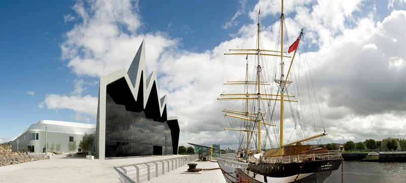 Photo of Riverside Museum.